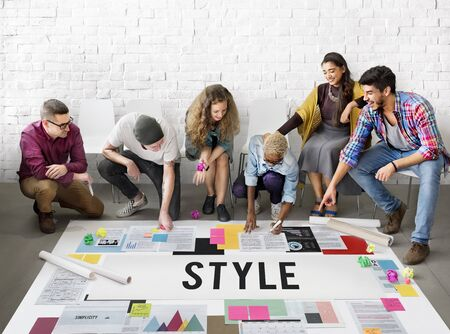 posh: Style Fashionable Design Trendy Posh Concept