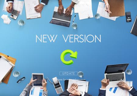 updates: Lastest Version Fresh Updates Application Updates Concept