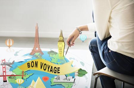 Bon voyage stock photos royalty free bon voyage images bon voyage farewell greeting journey travel trip concept m4hsunfo