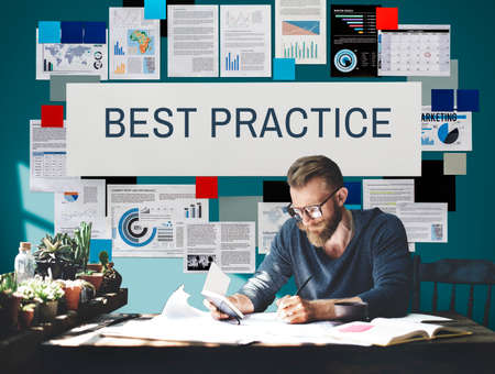 execution: Best Practice Execution Growth Concept