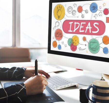 Ideas Mission Imagination Icons Vision Concept