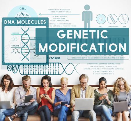 mutation: Genetic Mutation Modification Biology Chemistry Concept
