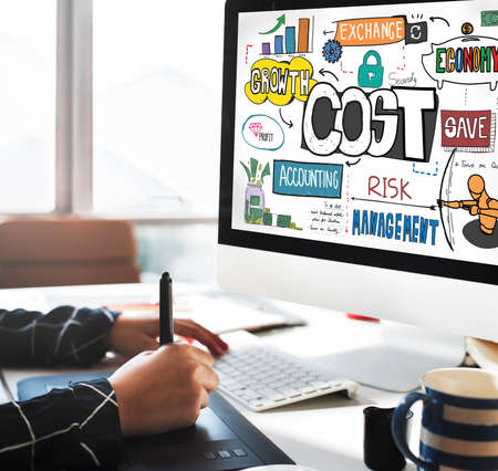 cash flow: Costs Finance Banking Money Cash Flow Concept