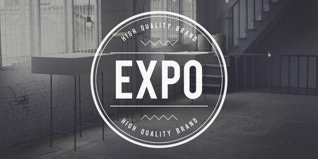 trade fair: Expo Showcase Event Industry Trade Fair Display Concept