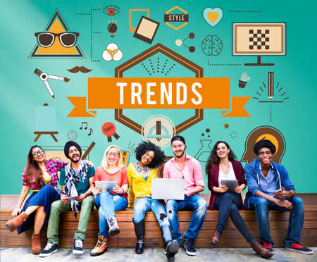 trends: Style Trends Fashion Lifestyle Concept