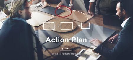 plan de accion: Las t�cticas de acci�n Planificaci�n Plan de Estrategia visi�n del concepto Objetivo