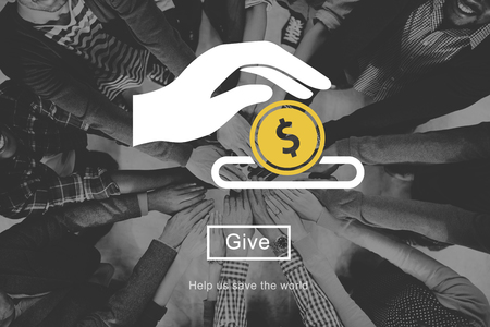 philanthropy: aid, assistance, cash, charity, coin, community, donate, donations, generosity, give, giving, graphic, hand, help, icon, illustration, money, philanthropy, proceeds, save, saving, society, solidarity, symbol, volunteer