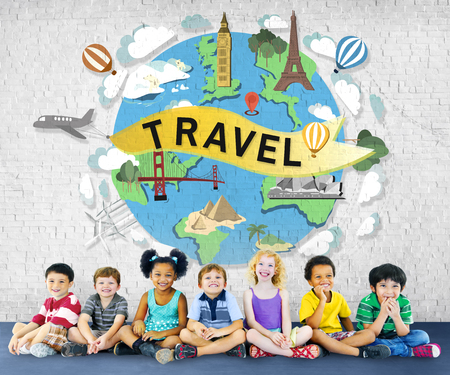 elementary age: Travel Traveling Vacation Holiday Journey Adventure Concept