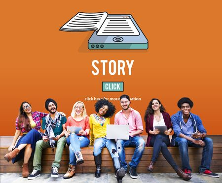 Story Drama Plot Poëzie Fairytale Verhalend Concept