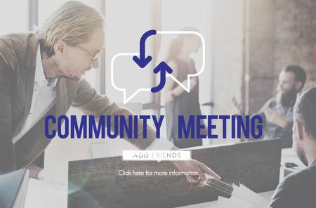 Community meeting concept