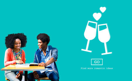 cherish: Dating Passion Couple Cherish Emotional Concept