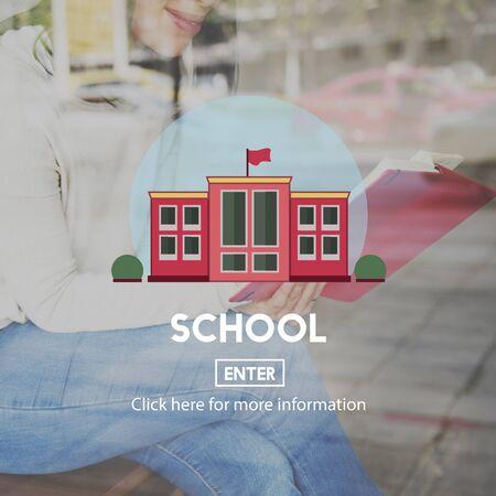 academy: School Academy Education Graphics Concept