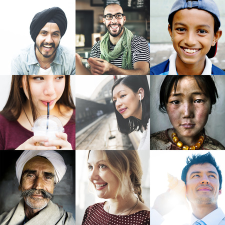 Diversiteit Diverse Etnische Afkomst Unity Variatie Concept
