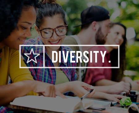variation: Diversity Society Variation Race Community Concept