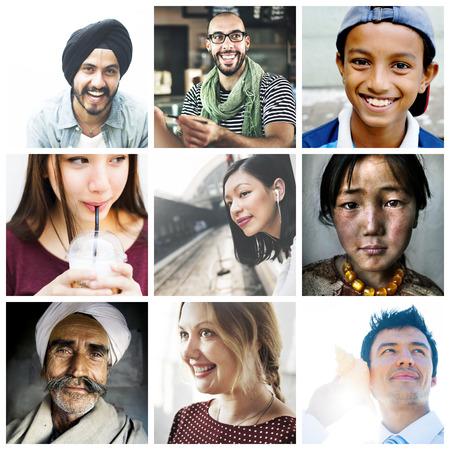 Diversity Diverse Ethnic Ethnicity Unity Variation Concept Zdjęcie Seryjne
