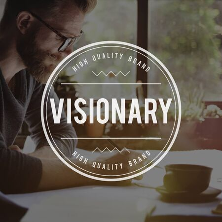 idealistic: Visionary Imaginary Ambition Creativity Idea Concept