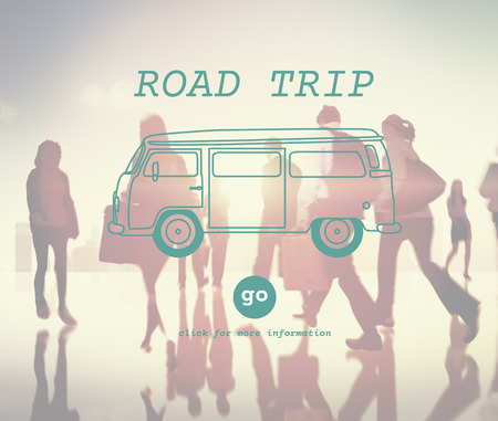 Rent A Car Road Trip Travel Destination Concept