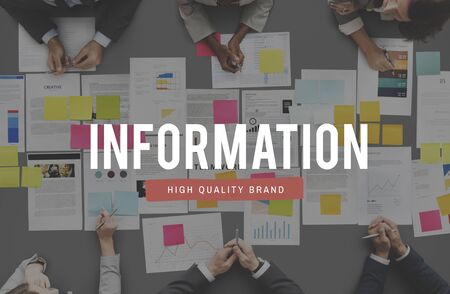 assessment system: Information Communication Business Data Concept