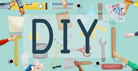 at it: Do It Yourself Project Graphics Concept