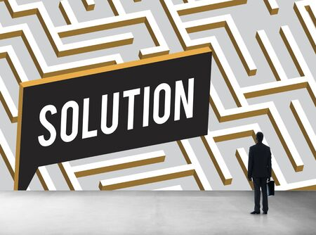 discovery: Solution Discovery Complexity Decision Concept Stock Photo