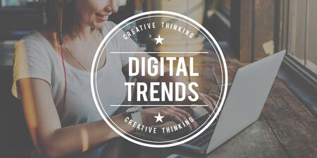 Digital Trends moderna Lastest Trendy Concetto