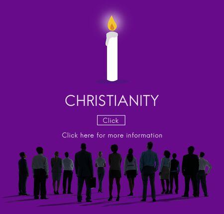 기독교 예수 그리스도는 믿음 하나님 종교 개념을 믿어