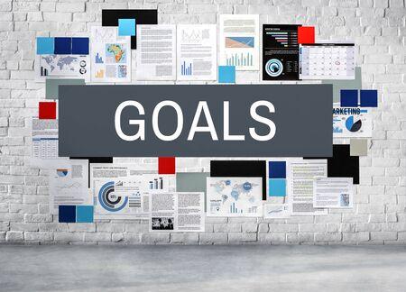 aspiration: Goals Aim Aspiration Motivation Target Vision Concept