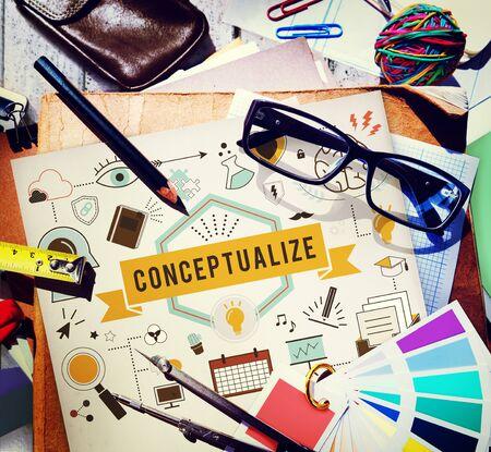 conception: Conceptualize Conception Conceptual Ideas Plan Concept