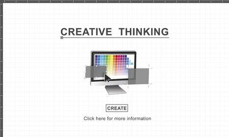 inspiration: Creative Thinking Design Imagination Inspiration Concept