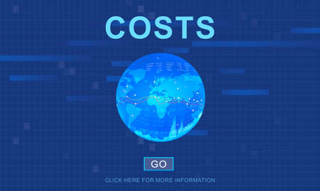 costs: Costs Money Banking Accounting Finance Concept