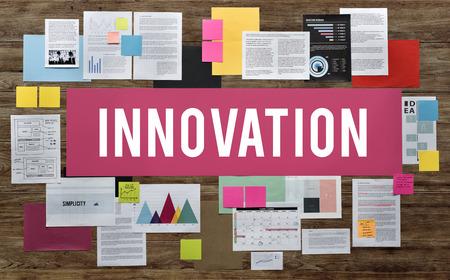 futurism: Innovation Creative Design Futurism Imagination Concept Stock Photo