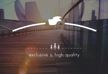 urban area: Brand Branding High Quality Exclusive Concept