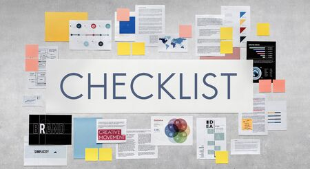 task: Checklist Reminder Important Task Remember Concept Stock Photo