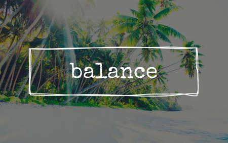 stabilize: Balance Banking Profit Loss Debit Credit Concept
