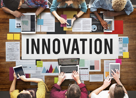 creativity: Innovation Creativity Development Futuristic Concept