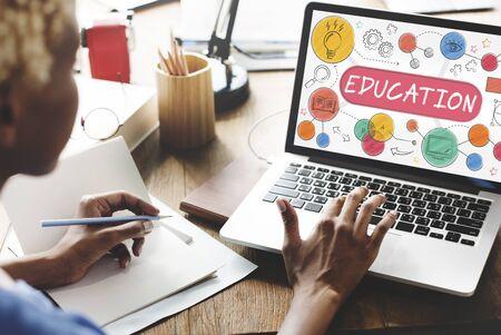 Onderwijs Learning Creativity Design Ideas Concept