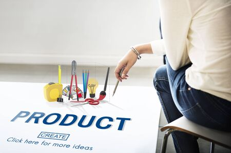 craft product: Product Creativity Craft Instrument Work Concept Stock Photo