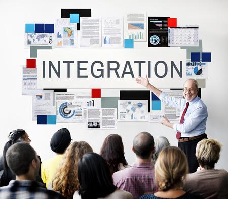 unify: Integration Combine Blend Merge Togetherness Concept