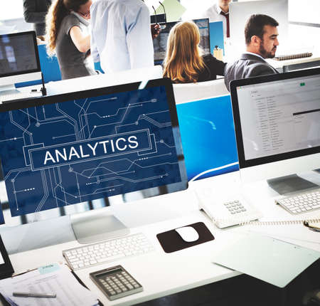 analyze: Analytics Analyze Data Analysis Informaion Research Concept