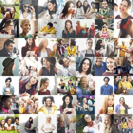 Diversity Diverse Ethnic Ethnicity Unity Variation Concept Stock Photo