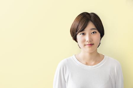 adolescencia: Chica fondo adolescencia calma concepto de ocio ocasional