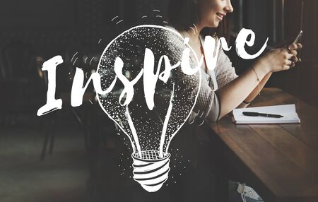 inspire: Inspire Inspiration Motivation Creative Creativity Concept