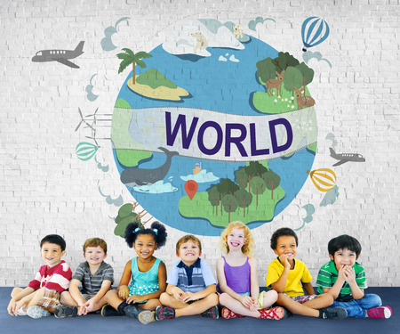 widespread: World Worldwide Society Global Community Connection Concept