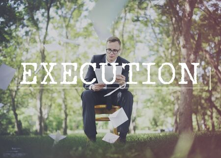 execution: Execution Accomplishment Implementation Strategy Concept