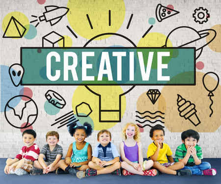creativity: Creative Creativity Inspire Ideas Innovation Concept Stock Photo