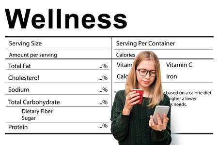 nutrientes: Nutrition Supplement Wellness Healthcare Nutrients Concept