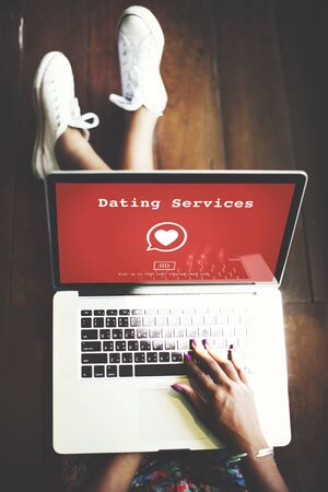 Blind Date: Dating Services Online Dating Application Concept
