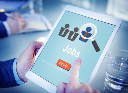 place to learn: Jobs Hiring Occupation Recruitment Work Careers Concept