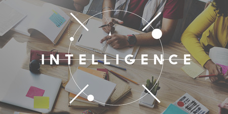 inteligent: Intelligence Information Insight Knowledge Genius Concept