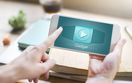 media gadget: Gadget Device Media Mobility Object Tablet Concept